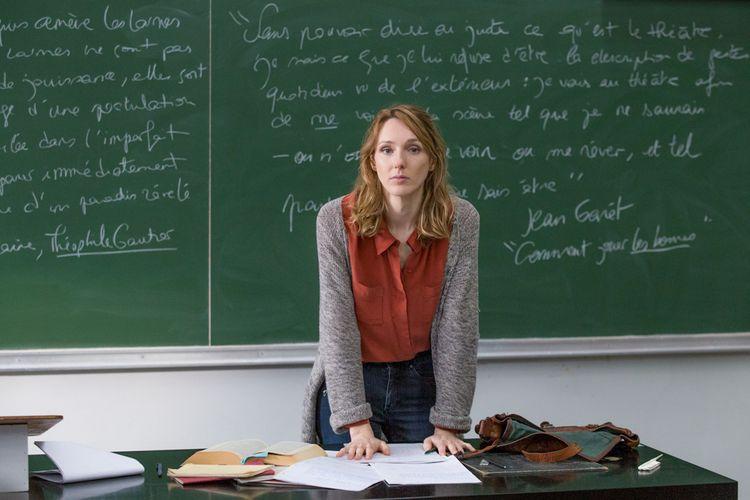 Photo de plateau Série Tv - Comédienne Pauline Clément